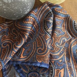 Nordstrom's Made In Italy 100% Silk Square